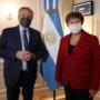 Alberto Fernández se reunió con Kristalina Georgieva